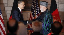 Karzai, US Officials Talk About Afghan Future