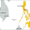 Magnitude 7.2 Earthquake hitting the Philippines