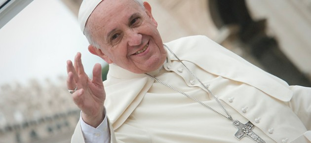 Pope Francis to bring a Message of Peace to the Holy Land