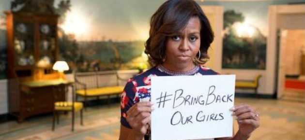 Michelle Obama 'Outraged' Over Mass Abduction in Nigeria