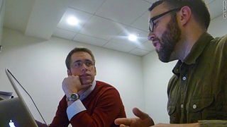 Joseph P. Mathews (on left) and Colin Chapman participate in one of the latest Digital Formation webinars.