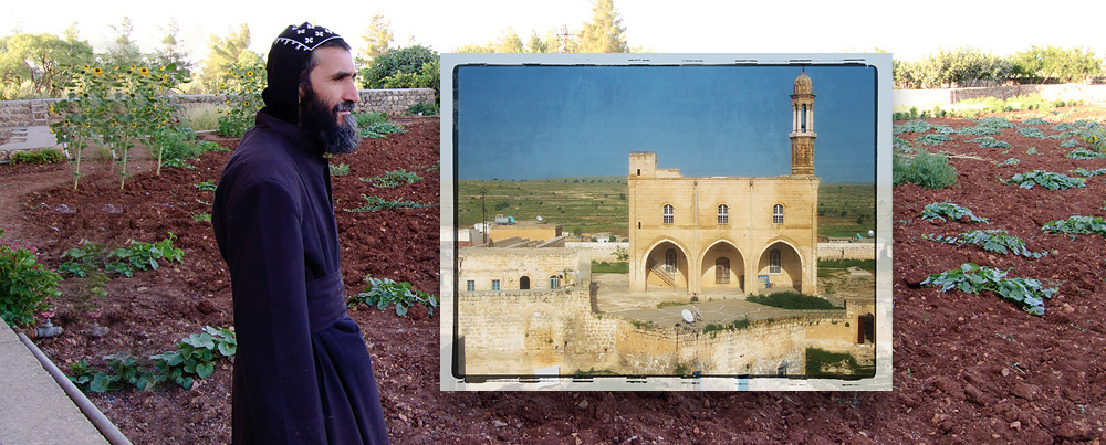 Syriac Monk: by Maarten Dirkse and Monastery: by Birasuegi via Photopin, Creative Commons