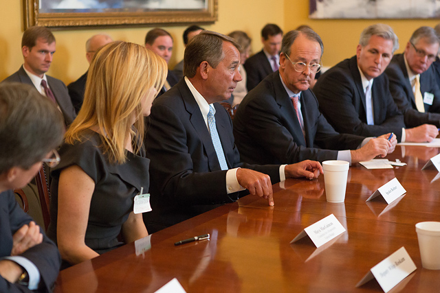 Photo credit: SpeakerBoehner via Photopin cc, Official Photo by Bryant Avondoglio