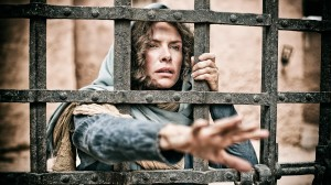 """Roma Downey as Mother Mary in """"The Bible."""" (Casey Crawford, © Lightworkers Media / Hearst Productions Inc.)"""