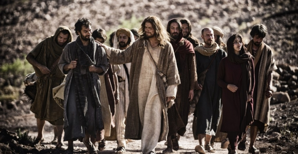 Jesus and Disciples in Galilee. (Joe Alblas, Photo courtesy of the History Channel)