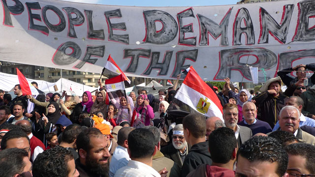 Archive photo, Cairo, Egypt, 2011.