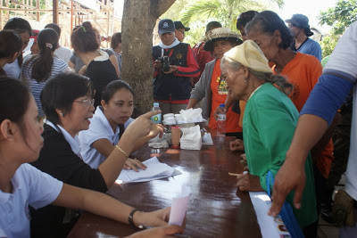 Medical Mission with one doctor and nine nurses