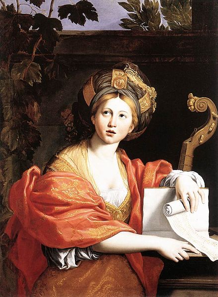 c. 1616-17 depiction of a Sibyl by Domenichino