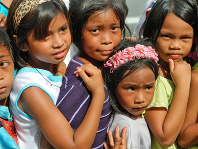 Children in Tanauan