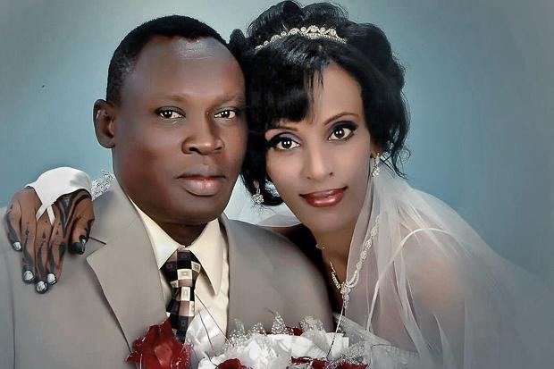 Meriam Ibrahim and her husband Daniel Wani